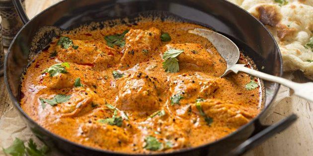 Что приготовить из курицы: Курица в сливочно-томатном соусе