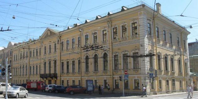 Литературные места Санкт-Петербурга: Дом «Пиковой дамы»