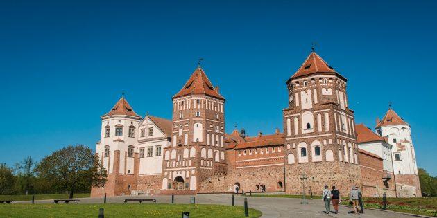 отдых в Беларуси: замки