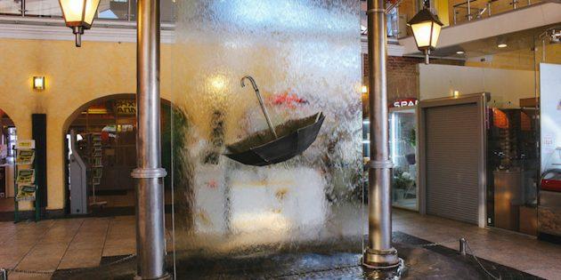 Памятники Санкт-Петербурга: Памятник петербургскому дождю