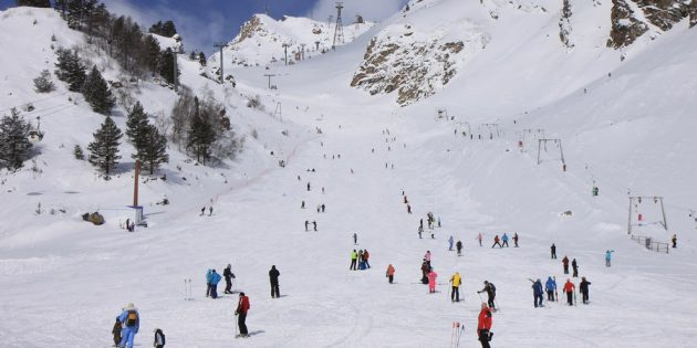 Где покататься на лыжах: Приэльбрусье, Россия