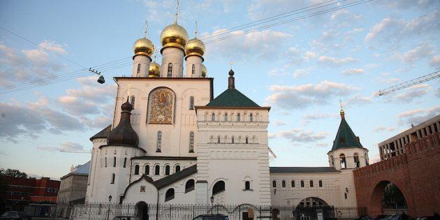 Необычные места Санкт-Петербурга: Кусок МосквыКусок Москвы