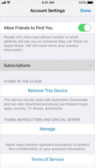 подписка на музыку «ВКонтакте»: как отписаться в App Store