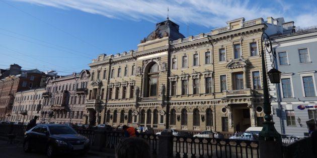 Кинематографические места Санкт-Петербурга