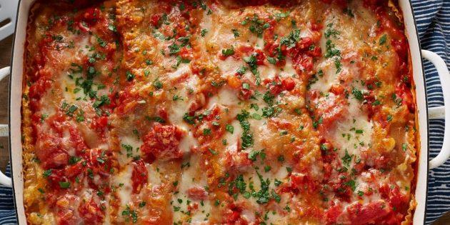 Как приготовить цветную капусту: Итальянская лазанья с цветной капустой