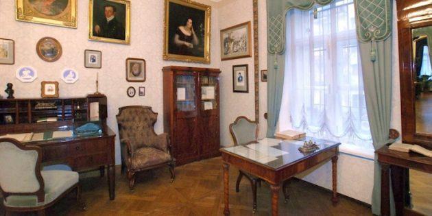 Интересные места Санкт-Петербурга: Музей-квартира Н. А. Некрасова