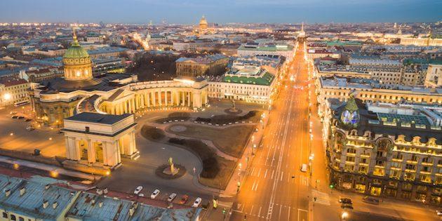 Литературные места Санкт-Петербурга