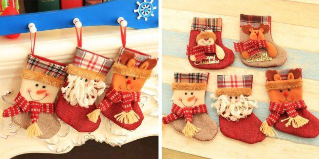 Подарочный носок