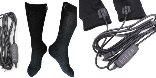 Носки с USB-подогревом