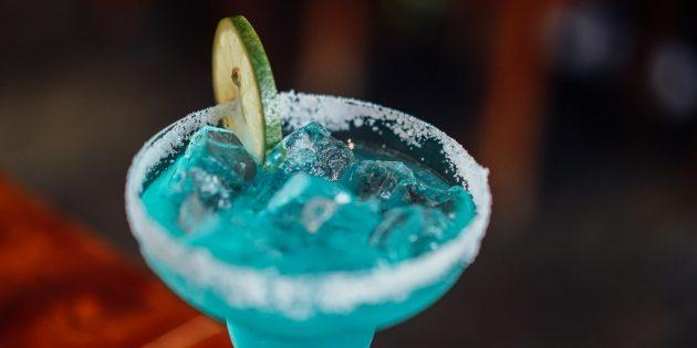 безалкогольные коктейли: голубая лагуна