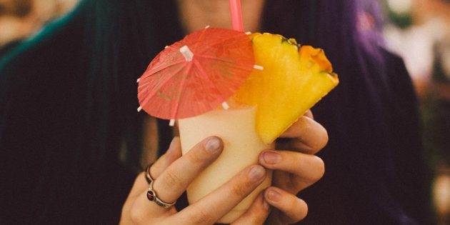 безалкогольные коктейли: пина колада
