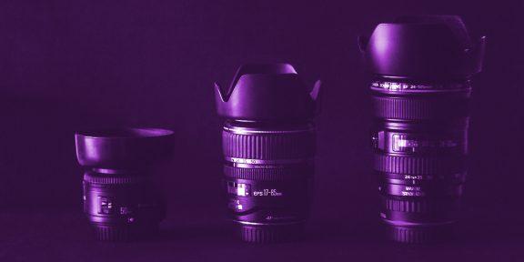На что обратить внимание при выборе фотообъектива