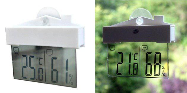 Термометр с дисплеем