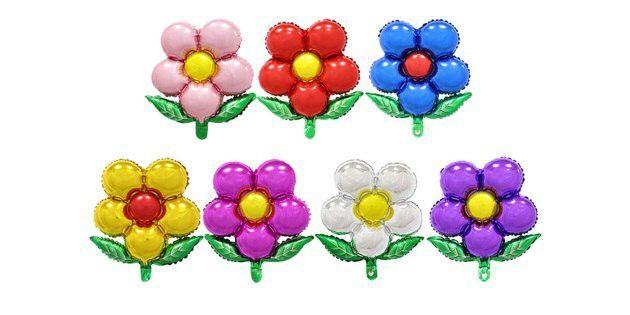 Воздушный шар-цветок