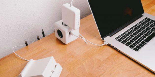 гаджеты для офиса: разветвитель PowerCube