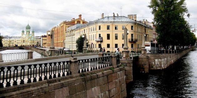 Необычные места Санкт-Петербурга: Семимостье