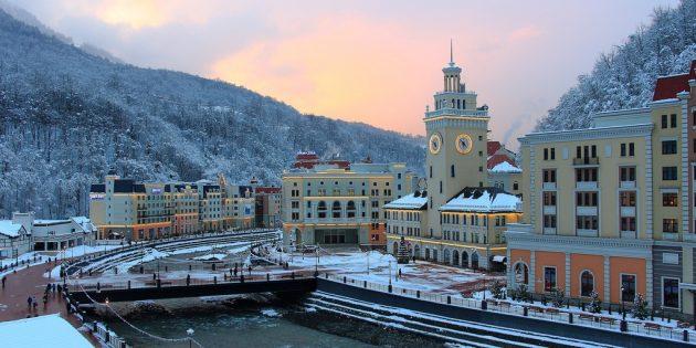 Где отдохнуть в декабре: Сочи, Россия