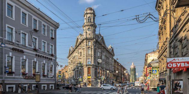 Необычные места Санкт-Петербурга: Пять углов