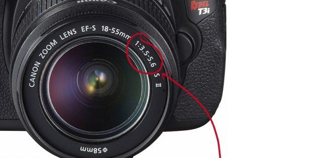 как выбрать фотообъектив: апертура