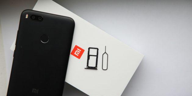 Xiaomi Mi A1: связь