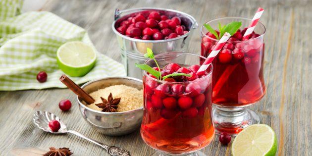 10 безалкогольных напитков к праздничному столу