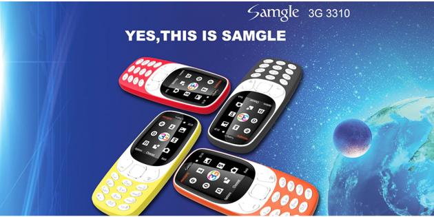 Samgle 3G 3310
