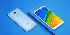 Xiaomi представила Redmi 5 и Redmi 5 Plus