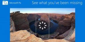 Microsoft Pix: трёхмерные панорамы и комиксы из фотографий в вашем iPhone