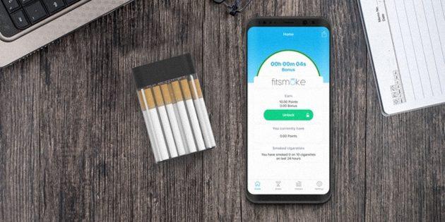 Штука дня: FitSmoke — портсигар, помогающий бросить курить