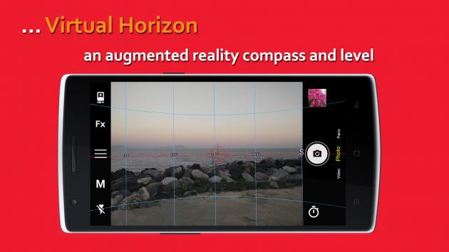 Bacon Camera: виртуальный горизонт
