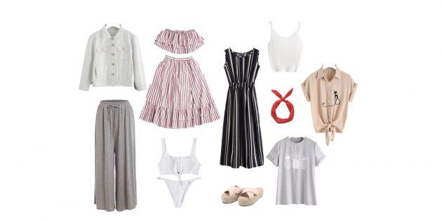 капсульный гардероб: вещи на лето