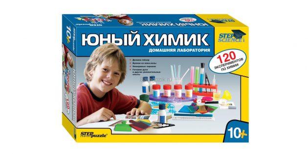 Домашняя лаборатория «Юный химик»