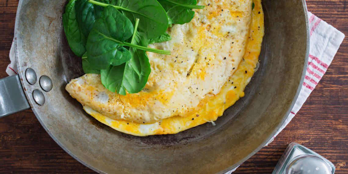 Рецепт омлет молоко яйца