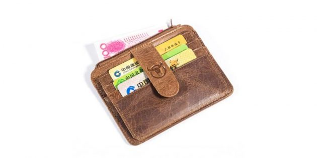 BULLCAPTAIN Card Holder