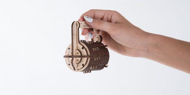 3D-пазл Ugears «Кодовый замок»