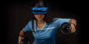 В продажу поступил шлем смешанной реальности Acer Windows Mixed Reality