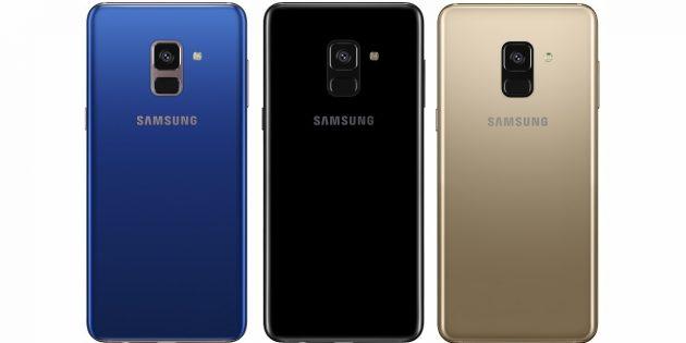Galaxy A8 и A8+: камеры