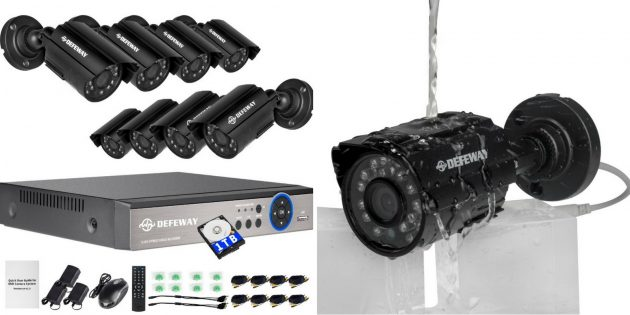 IP-камеры: DEFEWAY D1208N