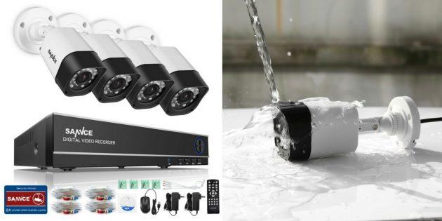 IP-камеры: Sannce DH81NK0