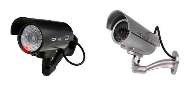 IP-камеры: муляж камеры видеонаблюдения
