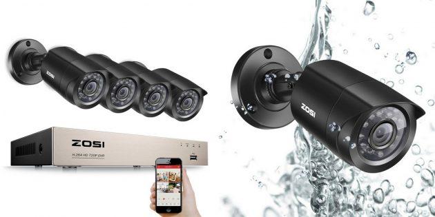 IP-камеры: ZOSI 8KN