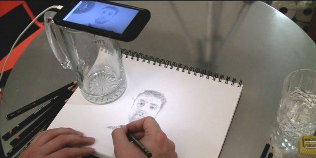 Da Vinci Eye для iOS — учимся рисовать с помощью дополненной реальности