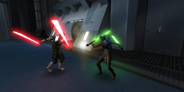 игры по Star Wars: Star Wars: Jedi Knight: Jedi Academy