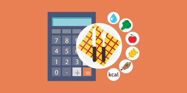 Как посчитать калории в сложном блюде