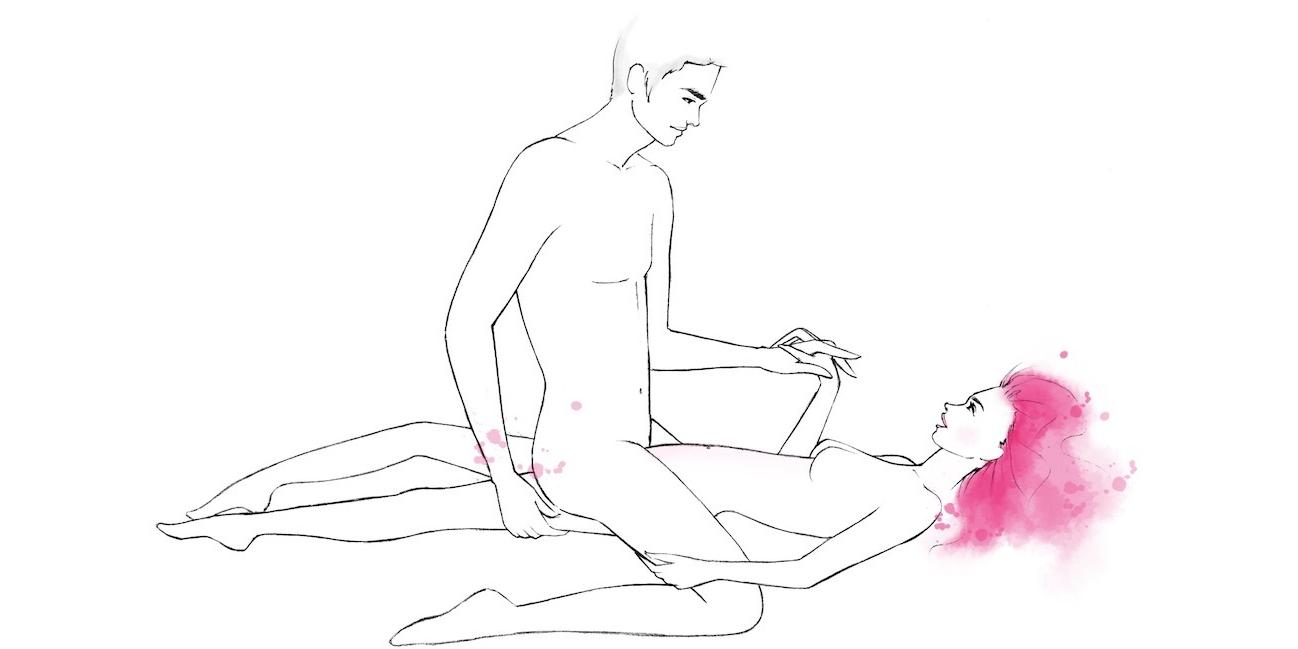 Позы секс девушка выше парня