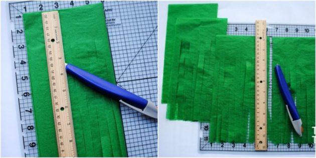 Как сделать новогодние гирлянды своими руками из папиросной бумаги