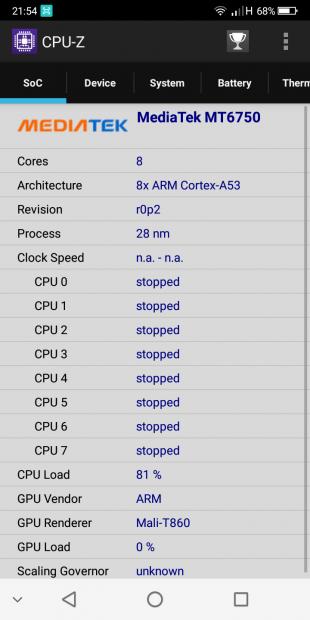 CPU-Z процессор