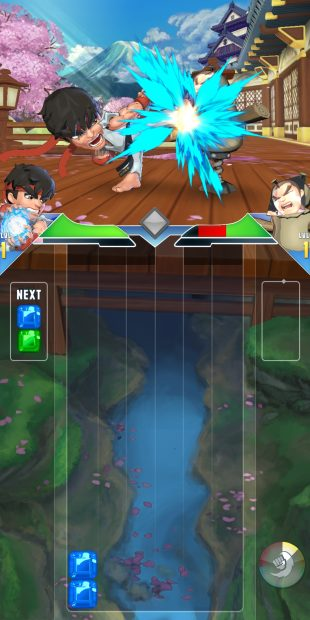 Puzzle Fighter: тетрис