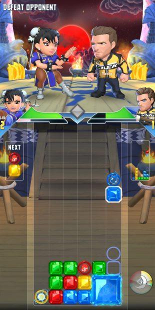 Puzzle Fighter: тетрис 2