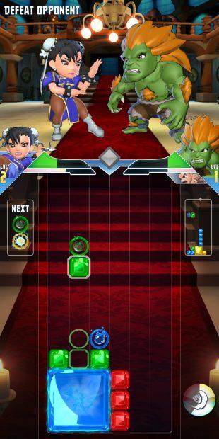 Puzzle Fighter: файтинг